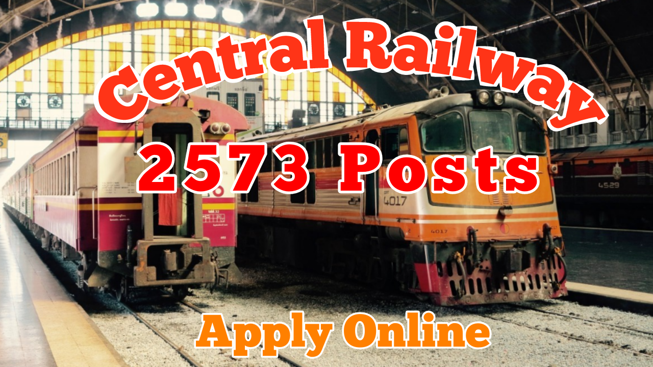 RRC Central Railway Recruitment