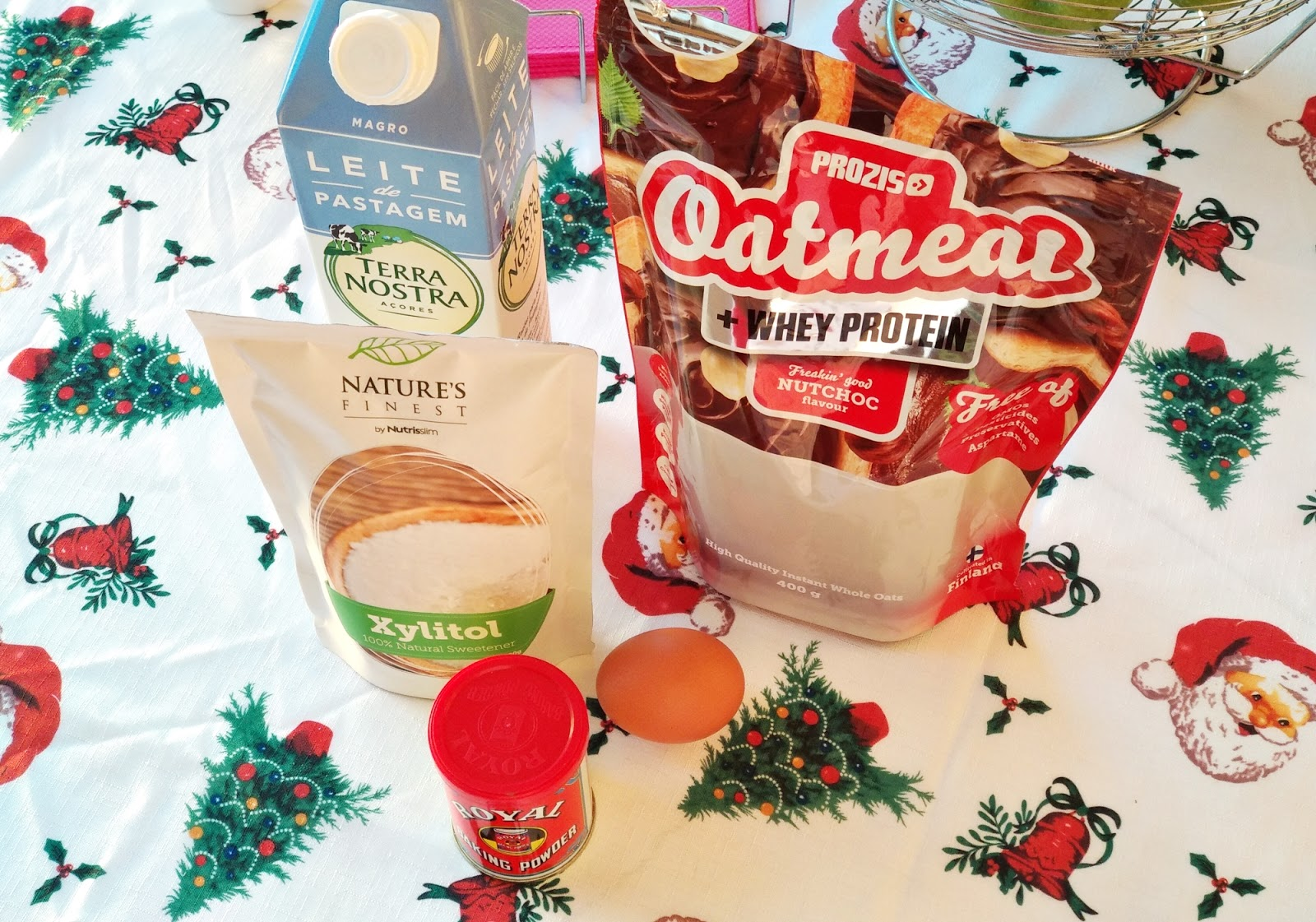 Muffins Proteicos de Nutchoc - Receita