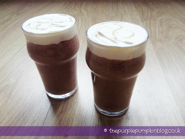 'Guinness' and 'Irish Coffee' Chocolate Pudding