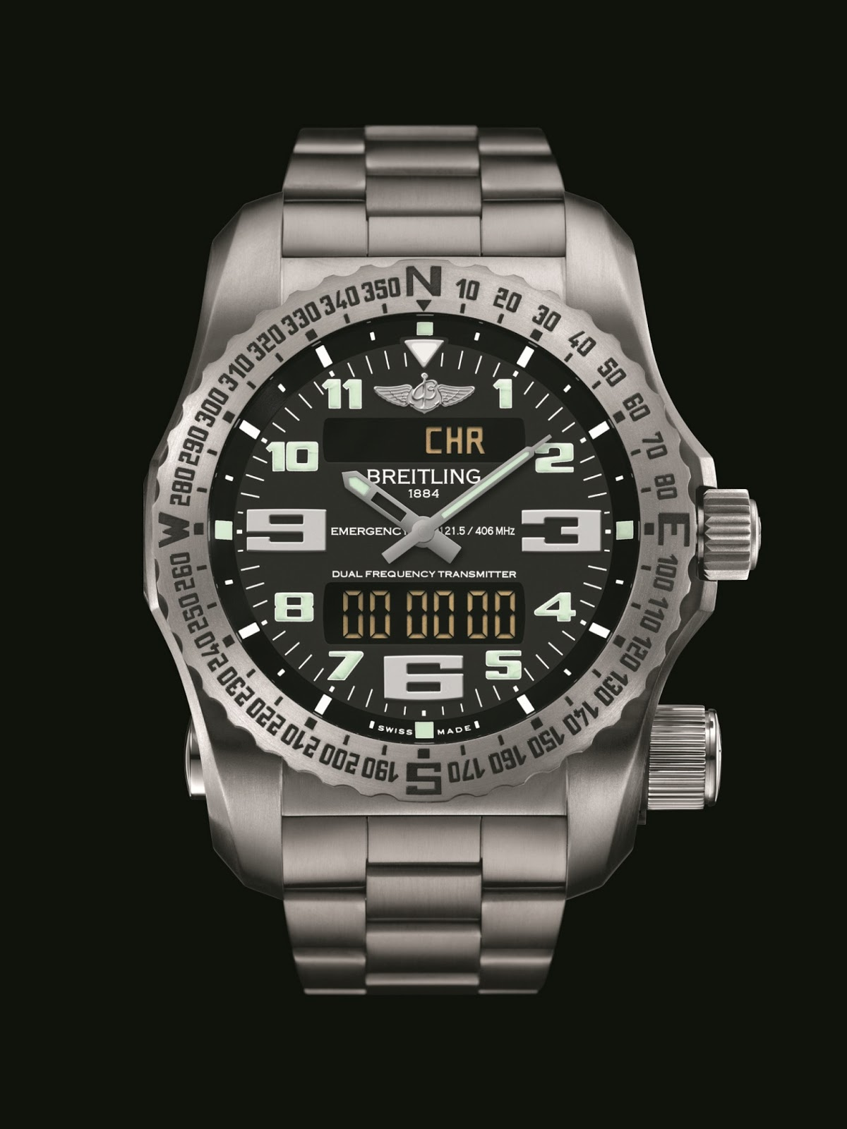 New Emergency II & Breitling for Bentley Timepieces FADED4U