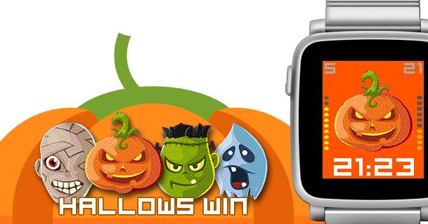dP watchfaces blog: Watchface: Hallows-win