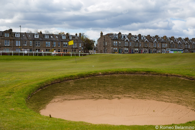 Musselburgh Links Sand Trap Top Scottish Golf Courses