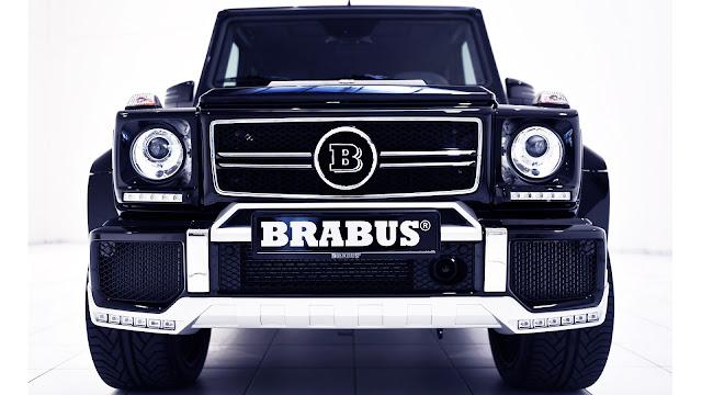 2013 Brabus B63-620 Widestar Front Design
