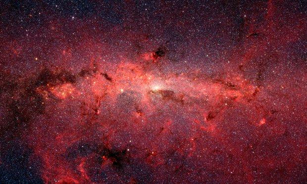 """مجرة درب التبَّانة """"تُدفَع"""" في الفضاء بواسطة منطقة كونية ميتة"""