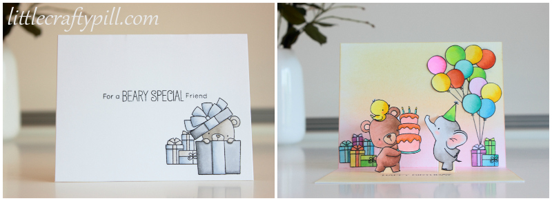 Little Crafty Pill Pop Up Birthday Card Full Of Mistakes And How I