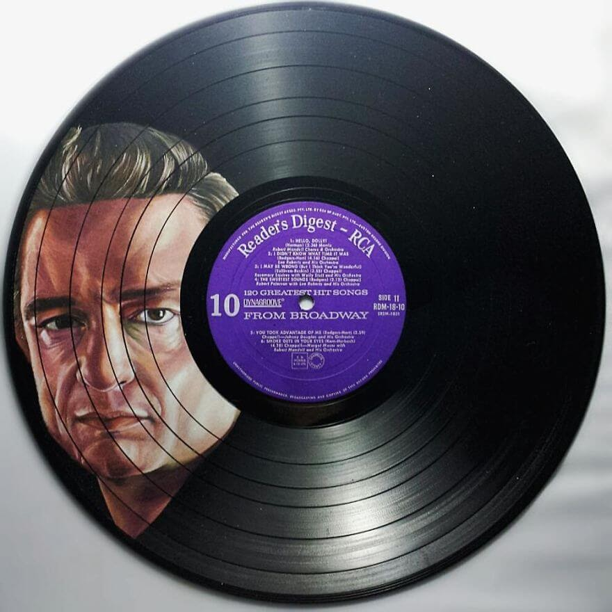 07-Johnny-Cash-Melissa-Jane-Celebrity-Portrait-Drawings-On-Used-Vinyl-Records-www-designstack-co