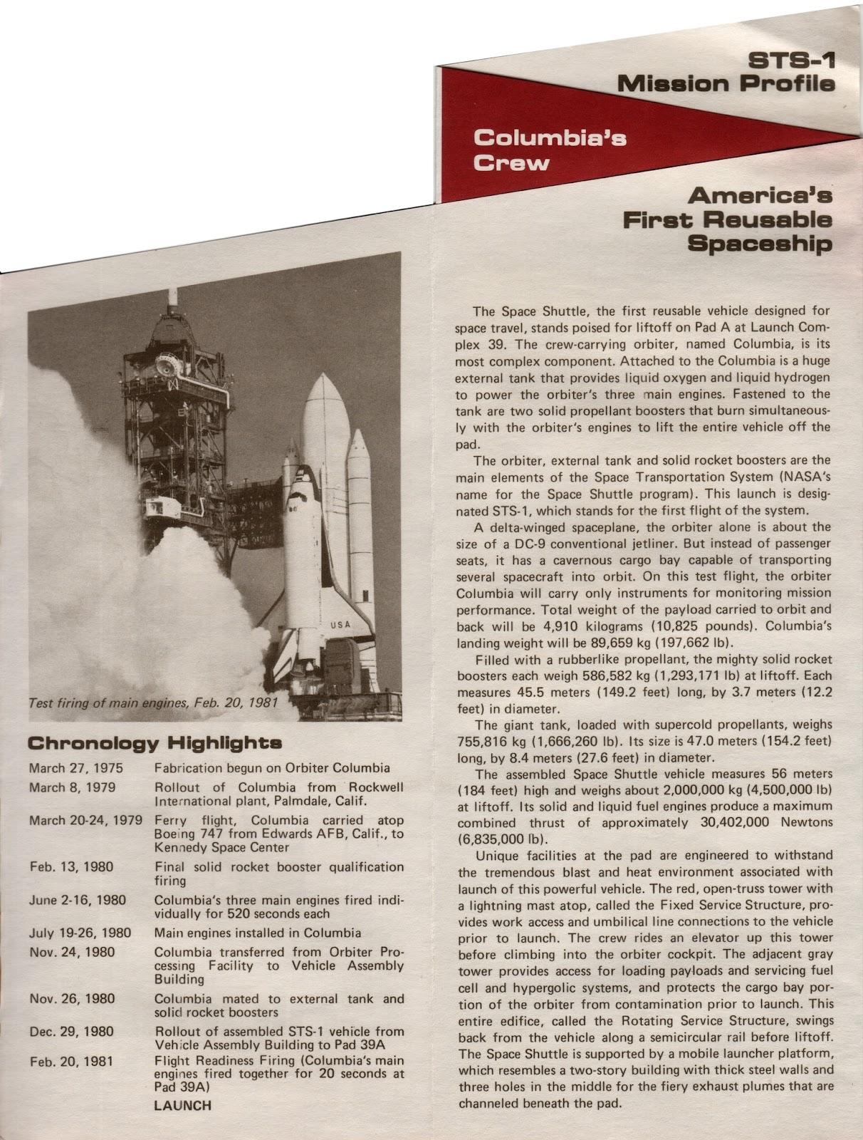 space shuttle mission profile - photo #25