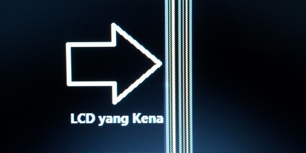 LCD Laptop ASUS A450C Butuh Perbaikan
