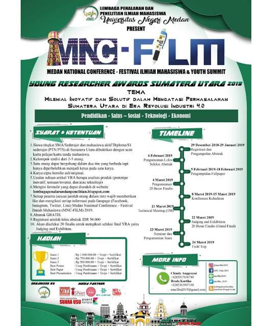 Lomba Inovasi MNC-FILM 2019 SMA Sederajat & Mahasiswa