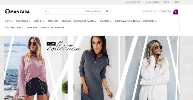 sale retailer 3a71f cae48 Manzara.it, shop online di vestiti - My Sweet Beauty Corner