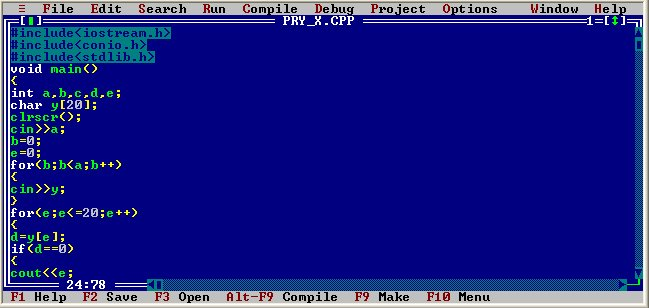 Turbo c for windows 10: 64 bit.