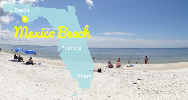 Die weißesten Strände Florida's - Mexico Beach