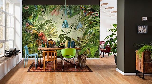 10 Desain Ruang Makan Colorful Zest