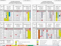 Kalender Pendidikan Tahun Ajar 2016/2017 dilengkapi SK