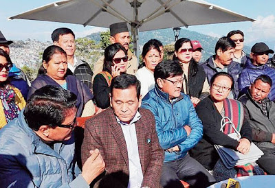 GJM top leaders from Kalimpong resigned from the party