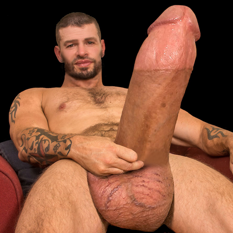 Crempied by the huge cock of leon xxl gay porn photo on crunchboy
