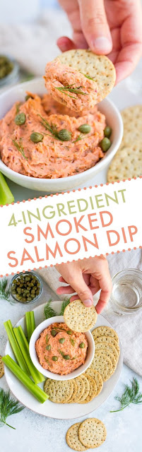 4-Ingredient Smoked Salmon Dip