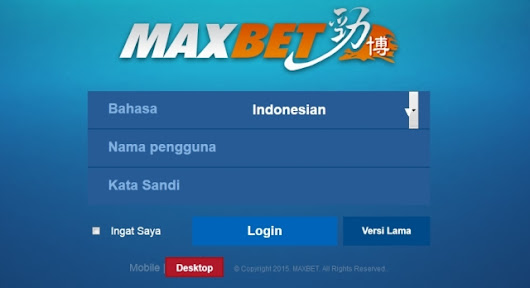 Login Maxbet Mobile