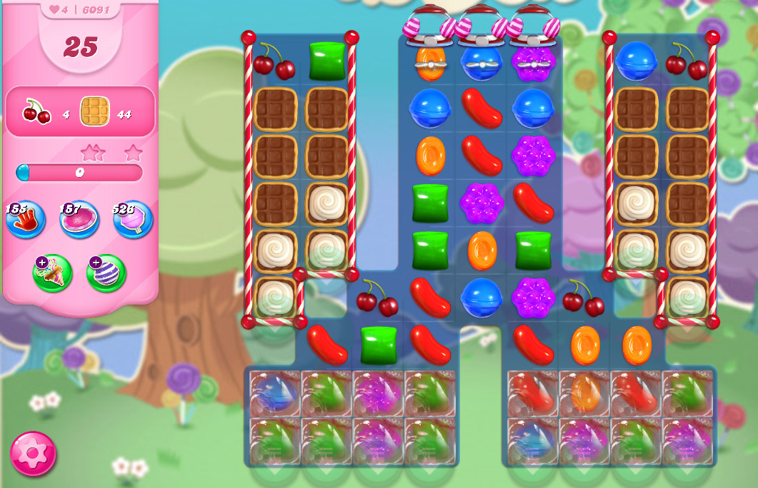 Candy Crush Saga level 6091
