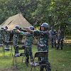 Personil Korem 141/Tp, Laksanakan Latihan Nembak Triwulan. I