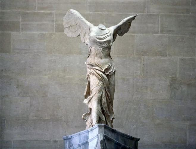 Winged Nike of Samothrace back in Louvre
