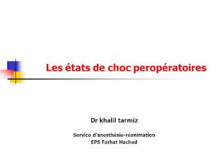 Les états de choc peropératoires.pdf