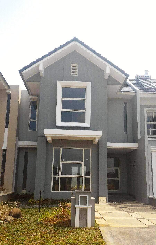 Alam sutera randy rumah contoh di suvarna sutera for Terrace 9 suvarna sutera