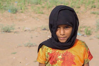 "I'll leave the camp and go to school. I love English. I'll be a teacher"" Sultana, 12, displaced from Hajja in war-torn Yemen.lawsonjamesblog"