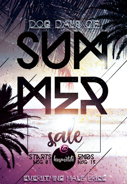 .kosmetik Dog Days of Summer Sale [AUG01-AUG15]