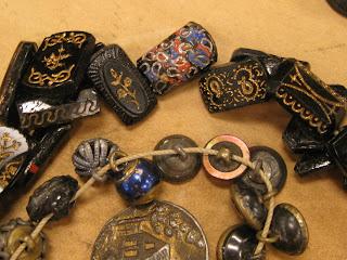 Antique Buttons, Civil War Button