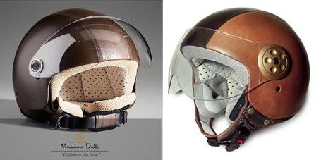 massimo dutti motorcycle helmet