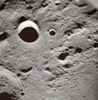 edificios en la luna