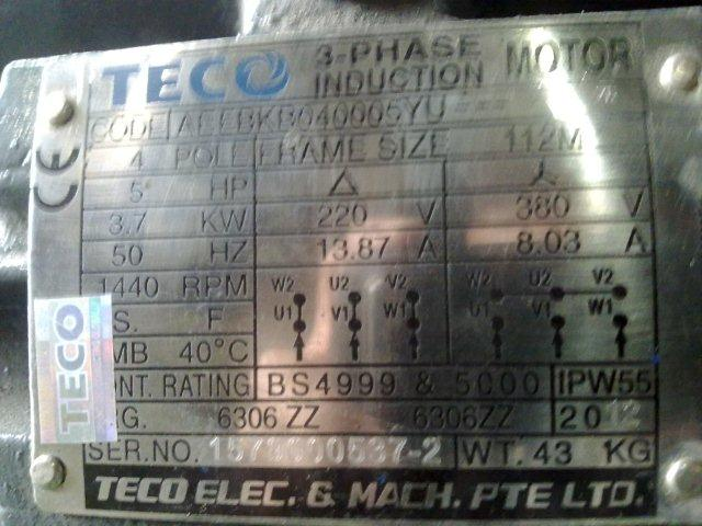 How To Read Motor Nameplate