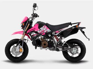 Kawasaki KSR 110cc Pink