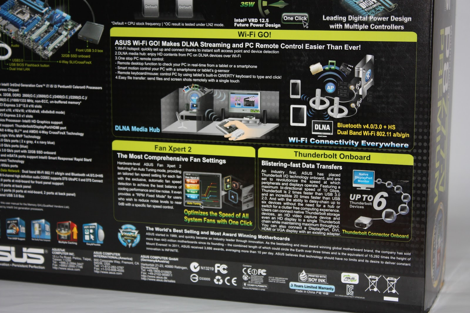 ASUS P8Z77-V Premium Motherboard Review - The Tech Revolutionist
