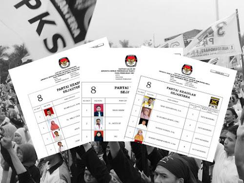 Daftar Calon Sementara Anggota DPRD Kota Bandung Pemilu 2019 dari PKS