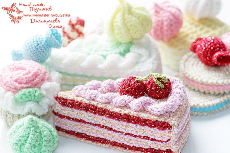 Hand Made Позитив: Вязаные сладости