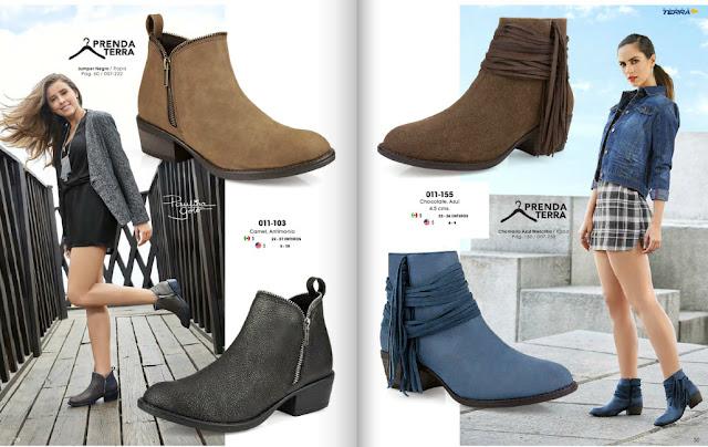 calzado mundo terra botas con flecos