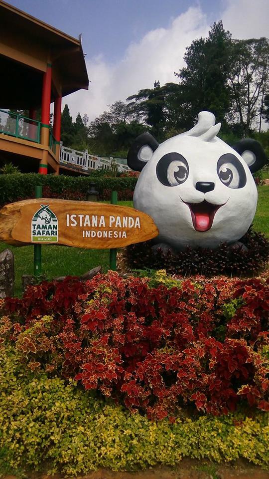 Istana Panda di Taman Safari
