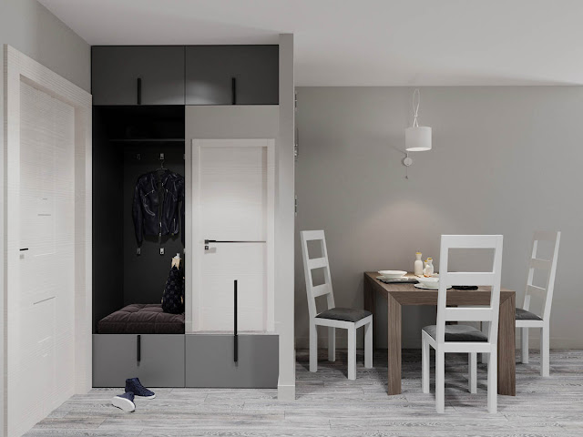 With grey flooring being an option that can easily hide dirt