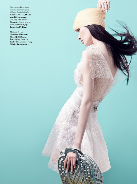 Jill Lee by Raja Siregar for Elle Indonesia June 2012 Editorial 7be9f8b59c