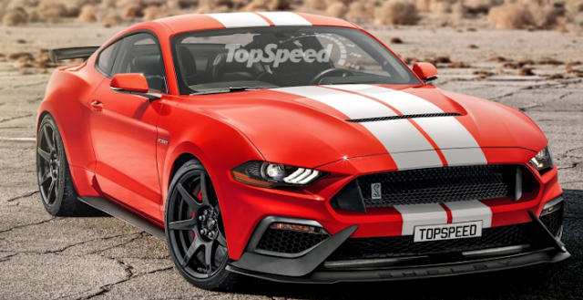 2019 Ford Mustang GT500 Eleanor Redesign