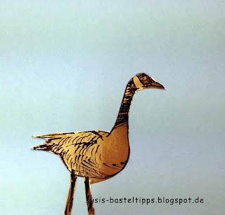 """stampin up wetlands märchen miniatur märchenland von unabhängiger Demonstratorin """"Die goldene Gans"""""""