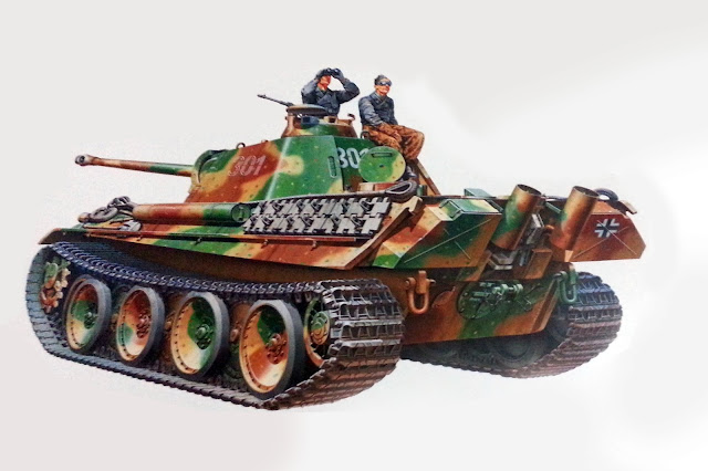 Box art for 35176 Tamiya 1/35 Panther Type G
