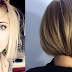 Blonde asymmetrical bob!