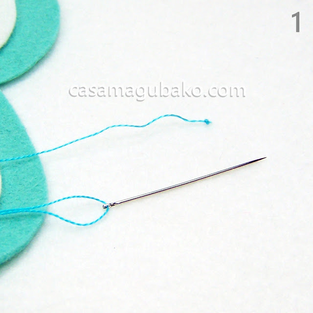 Basting Stitches Tutorial by casamagubako.com