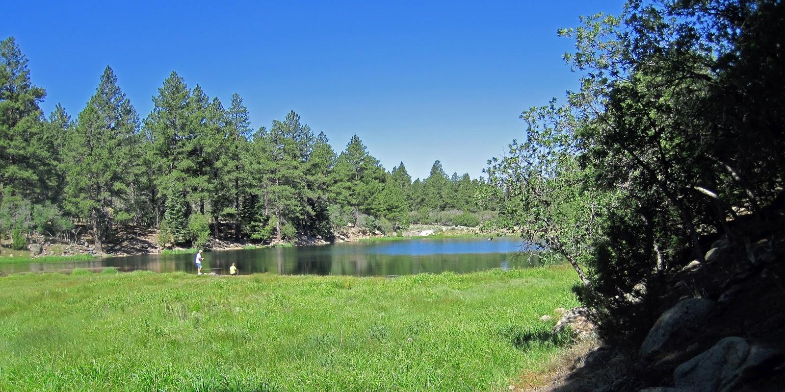 FisherDad: Pine Valley Reservoir, Southern Utah