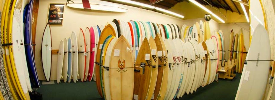 Surf 'n Wear's Beach House Surfboards