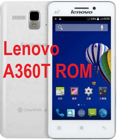 How to flash and download Lenovo A360t Rom scatter file firmware.