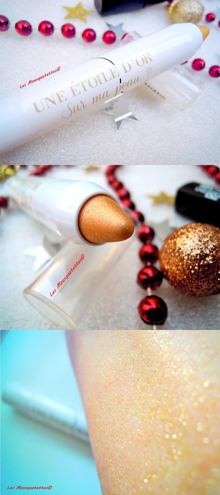 Crayon Une Etoile D'or sur ma peau - De Bruyère - Les Mousquetettes©